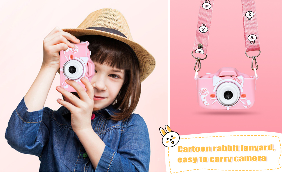 Digital Video Camera for Kids, Toddlers, Toy, Boys and Girls