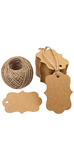 gift paper tag