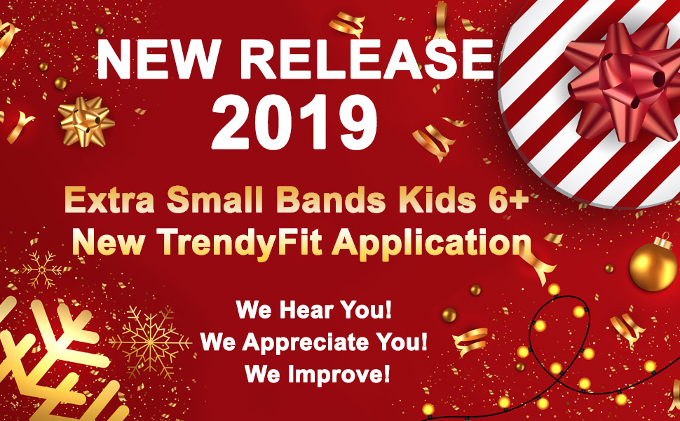 Fitbit for kids new release Extra small bands