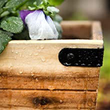 Villa Acacia planters and boxes are weather tested and approved for use in any environment