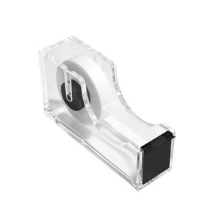 desktop tape dispenser with tape refill dispensing