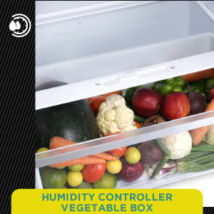 Humidity Controller Vegetable Box