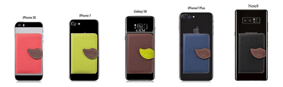 Compatibilidad universal con teléfonos inteligentes o carcasas de superficie plana.