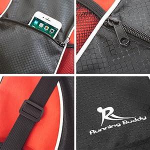 Running Buddy, gym bag, drawstring bag