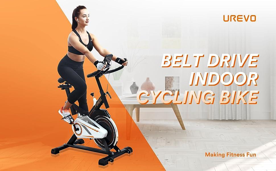 Indoor Exercise Cycling Bike
