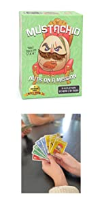 mustachio Jewels, Trick Taking Game, quickwits, skull king