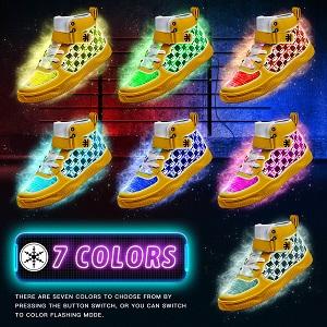 7 color light
