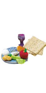 passover plush toy set