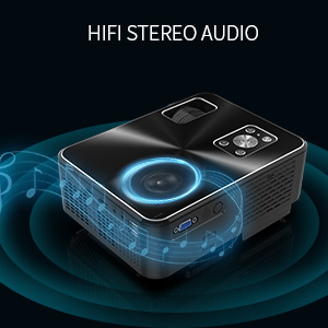 Hifi stereo projector