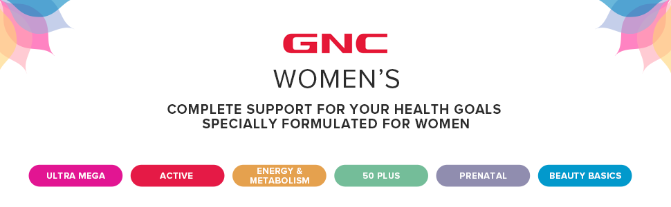 gnc women's complete support for your health goals specially formulated for women