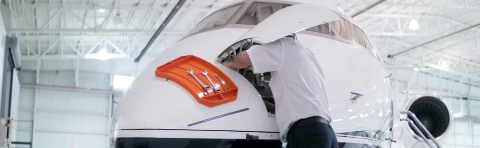 Grypmat flexible tool tray mat cart non slip wrench ratchet socket grip mat aviation aerospace