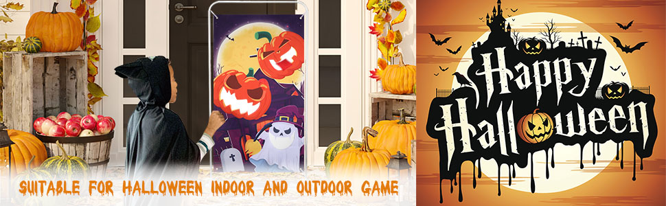Halloween Party Games Bean Bag Toss Game