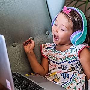 Kopfhörer für Tablet, Kopfhörer für iPad für Kinder, Kinderkopfhörer für Chromebook, Kopfhörer