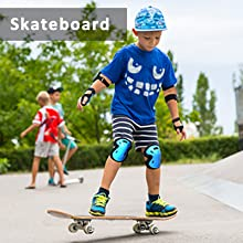 kids youth stateboarding protective gear 4