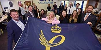 CPR Call Blocker Team Queen's Award