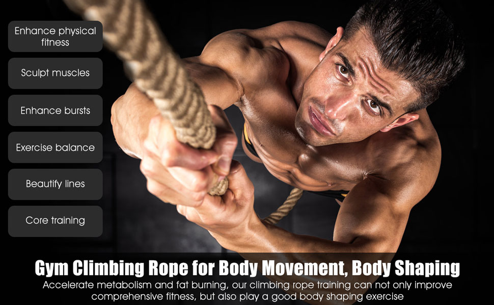 Gym Climbing Rope