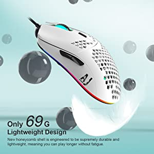 2.4oz Lightweight Gaming Mouse
