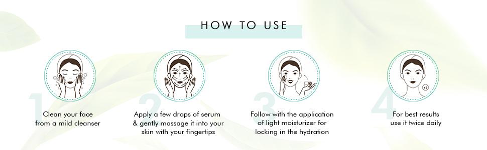 apply clean face massage fingertips apply moisturizer