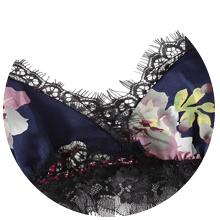 Deep V lingerie for women