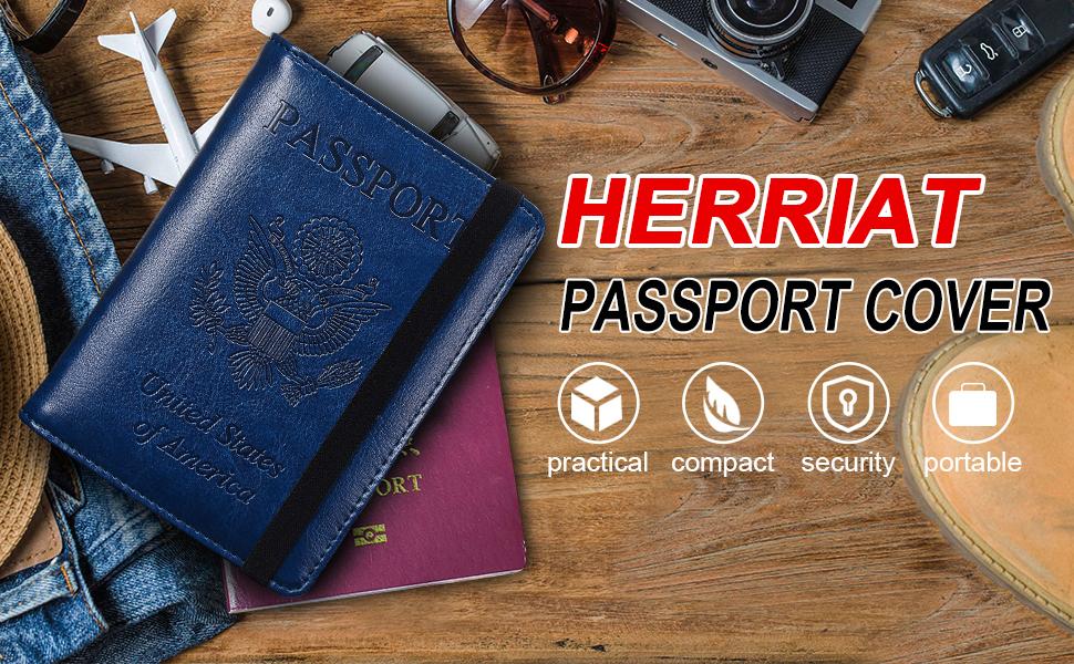 passport holder for women passport cover passport wallets rfid blocking leather passport holder