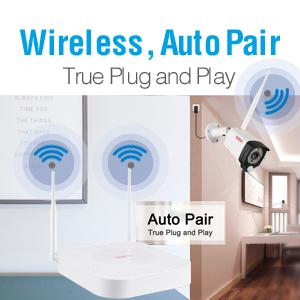 Auto pair, plug and play