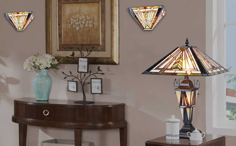 tiffany lamps, stained glass lamps, tiffany table lamp, floor lamp, pole lamp, dining room light