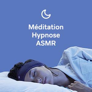 meditation hypnosis sleep asmr flat headband insomnia soud white noise relaxation