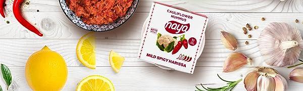 cauliflower hummus naya foods