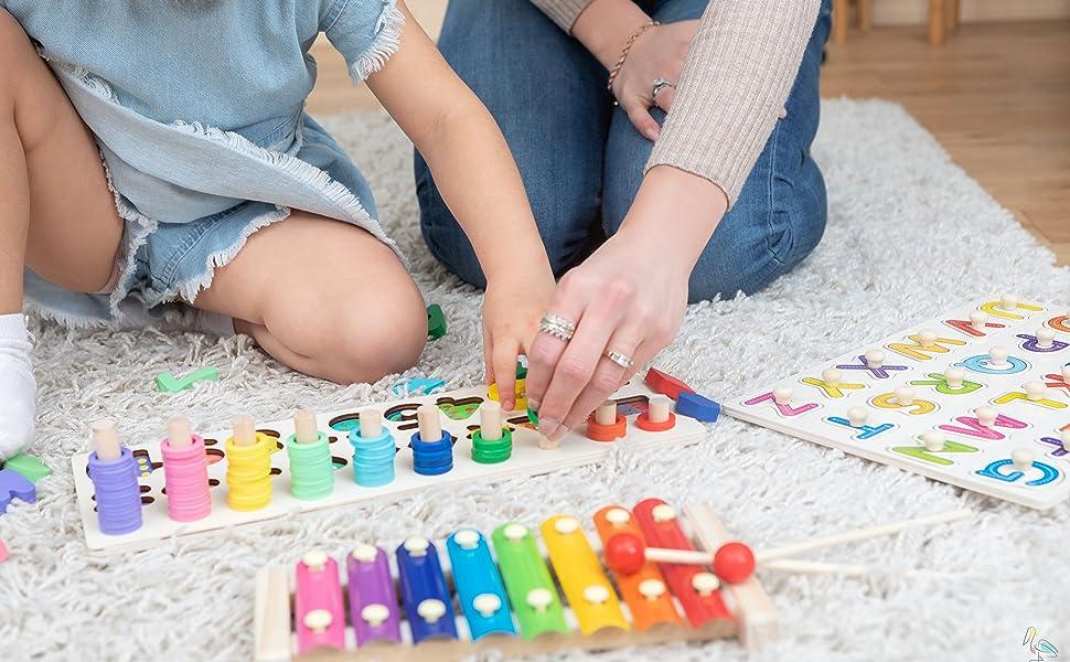Giochi Montessori 2 Anni