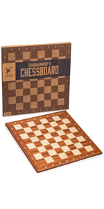 Husaria Staunton Tournament Chess Board, No. 5