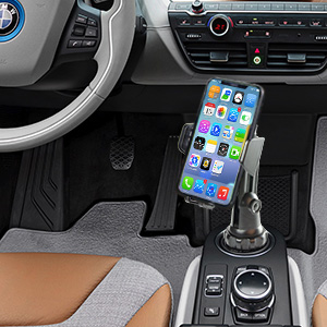 cup phone holder for car