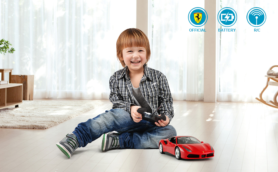 ferrari toy car collection