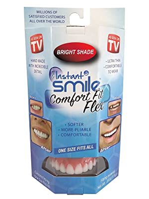 Instant Smile Comfort Kit Flex Upper Veneer Cosmetic Teeth