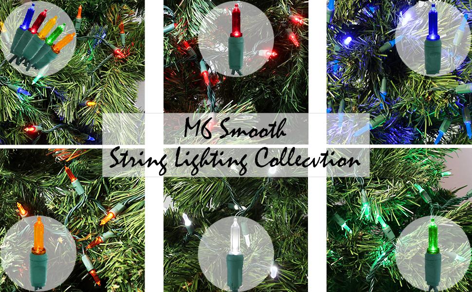 M6 Smooth Christmas Lights