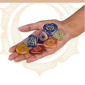 Natural healing Stones chakra set chakra healing 7 chakra stones