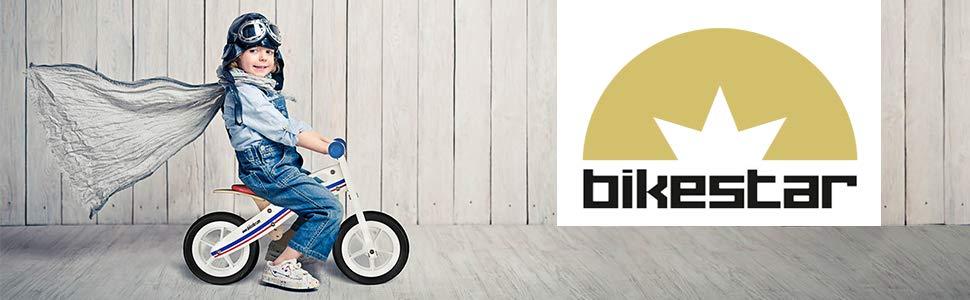 Bikestar Bicicleta sin pedales para niños a partir de 2 años 10 Pulgadas