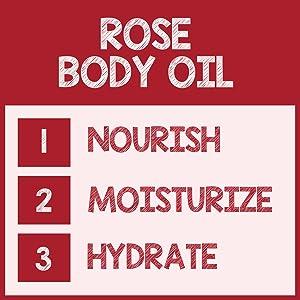 pureSCRUBS Rose Body Oil