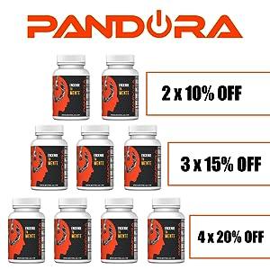 Pandora Nootrópico Natural . Favorece la Concentración y Memoria ...