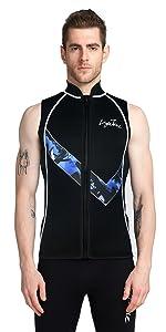 diving vest wetsuist vest men women surf vest caneoing kayaking vest top wetsuits vest men women