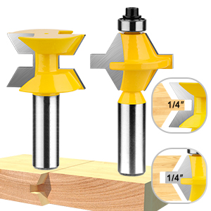 Router Bit Set 120 Degree