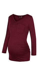 maternity tunic blouse