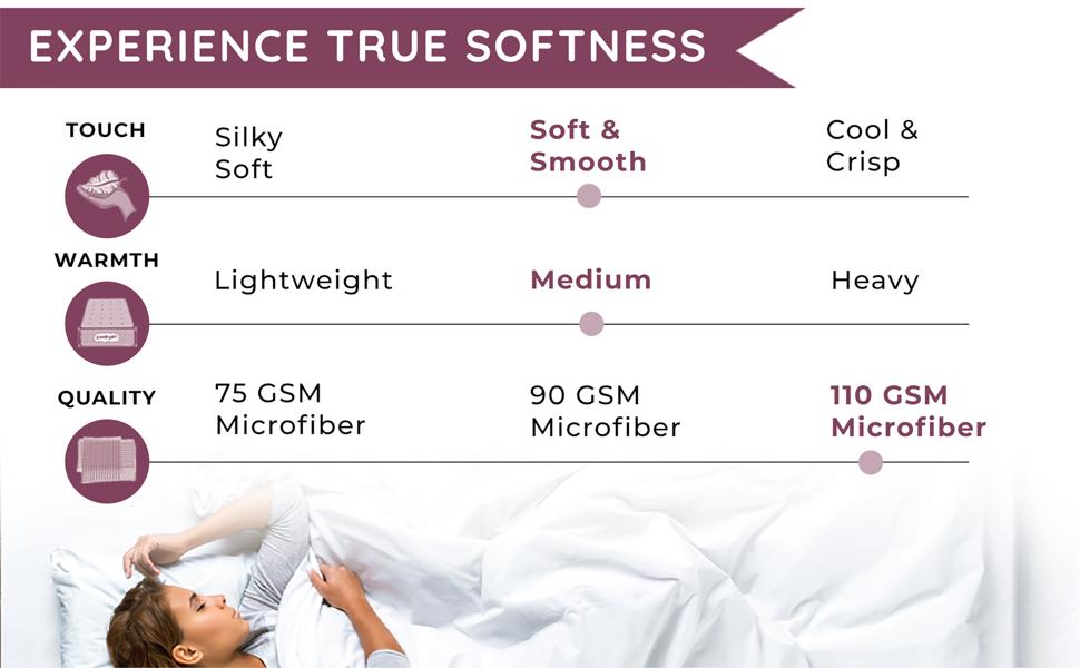 experience true softness