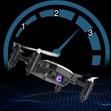 Flashandfocus.com 9d0ffe3d-efea-4251-a229-2152a434c7be.__CR0,0,300,300_PT0_SX220_V1___ SIMREX X300C Mini Drone RC Quadcopter Foldable Altitude Hold Headless RTF 360 Degree FPV Video WiFi 720P HD Camera 6…