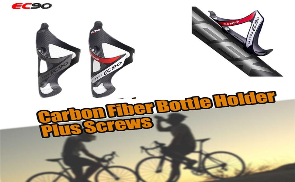Bicycle Bike Cycling Carbon Bottle Cage 18G Mtb Carbon Bottle Holder Carbo P2V3