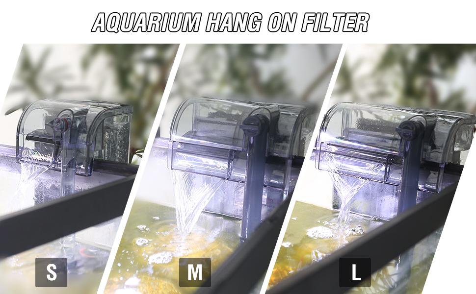 Aquarium Hang On Filter