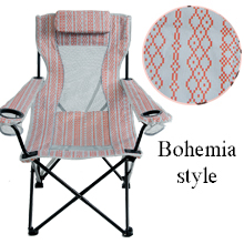 park folding beach chair sling camping chair pink mesh collapsible outdoor sports lawn chair