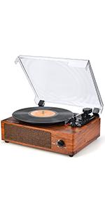Amazon.com: Vinyl Record Player Turntable Vintage Record ...
