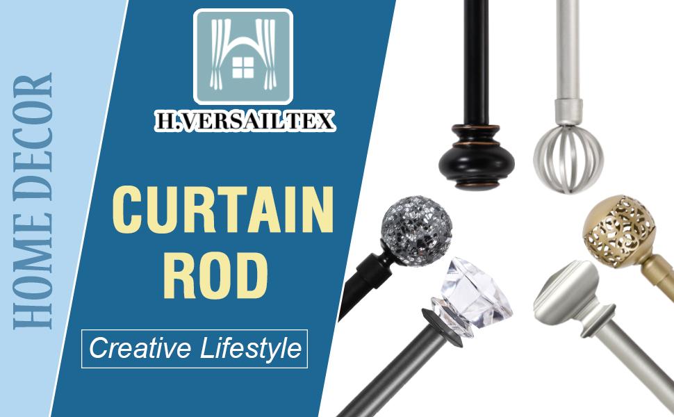 H.VERSAILTEX Curtian Rod