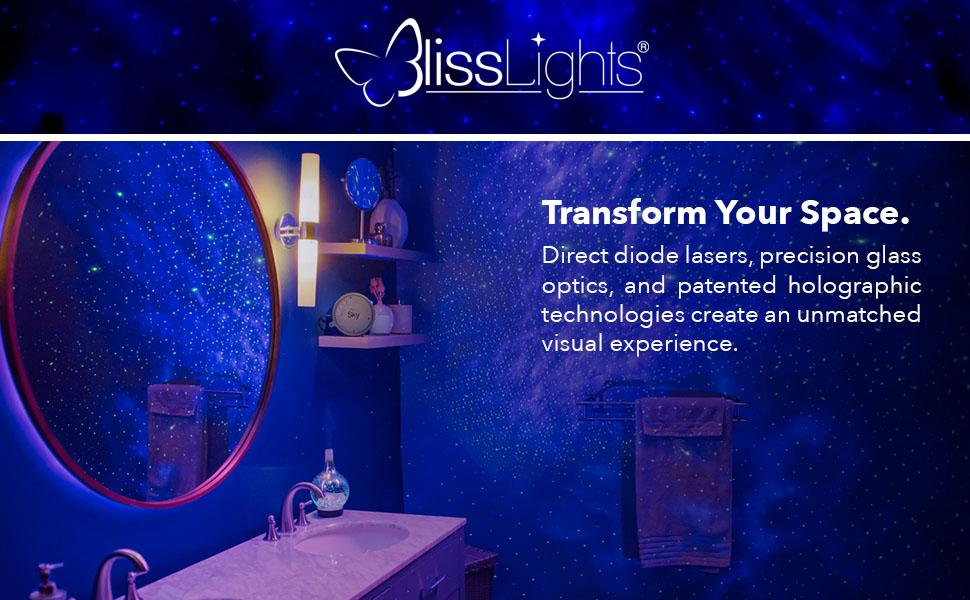 blisslights laser light star projector