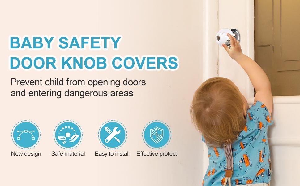 door knob child proof door knob baby toddler door knob cover baby proof knob covers